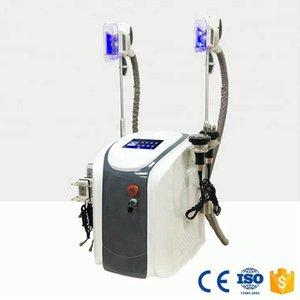 certificazione CE per il multi-polo vuoto RF cavitazione portatile Fat Congelare Perdi peso che dimagrisce congelata Grasso ultrasuoni RF Lipo macchina laser