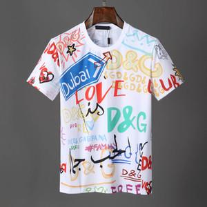 2019 Yaz Yeni Varış En Kaliteli Tasarımcı Giyim erkek Moda T-Shirt Medusa Baskı Tees Boyut M-3XL