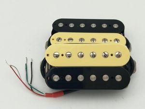 Gitar Transfer Alnico 5 Humbucker Pikap Çift Bobin Elektro Gitar Pikap Zebra Boyun veya Bridge Pikap