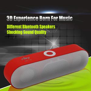 New NBY-18 Mini Bluetooth Speaker Portable Wireless Speaker Soundbar System 3D Stereo Music Surround Blutooth TF AUX USB Boombox