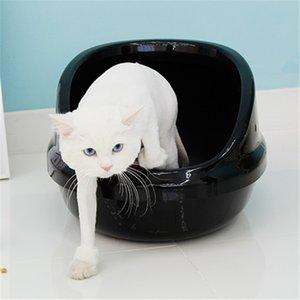 Sputtering Fechado Cat Sandbox completa WC Semi-Closed Rei