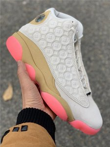 2020 New 13 XIII CNY LOW PINK MEN basketball shoes 13s sports sneakers outdoor trainers TOP quality size 4-13