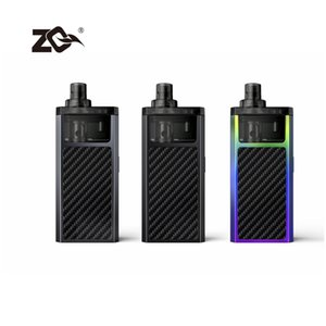 100% originale ZQ MOOX pod kit di 3 ml di perdite di sostituzione prova Mesh bobina kit MTL DTL 1100mah ZQ MOOX Vape