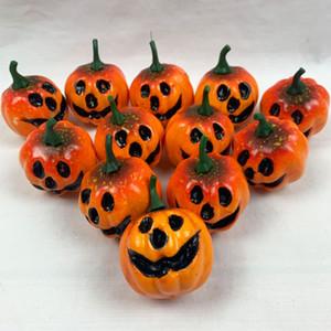 Lifelike Yapay Kabak Köpük Pumpkins Renkli Mini Halloween kabak Düğün Halloween Party Ev Dekorasyon Prop DBC VT0866 Malzemeleri