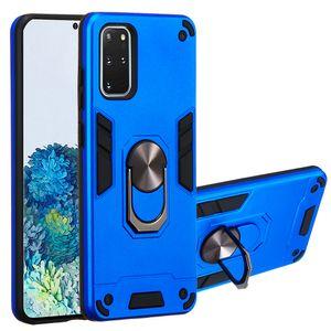 Magnetische Kfz-Halter-Finger-Ring-Kasten für Samsung Galaxy A81 A91 A71 A51 note10 S10lite S20 Plus-S11E usw.