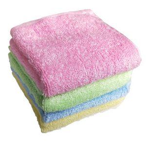 25x25cm Cozinha Anti-graxa Wipping Rags eficiente Super absorvente microfibra pano de limpeza Início Dish Washing Toalha limpeza da cozinha