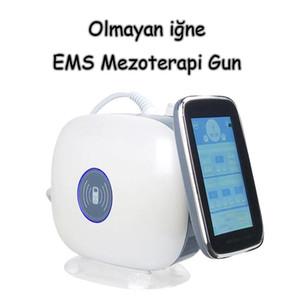 2019 En Çok Satan EMS RF Mesogun Olmayan iğne EMS Mezoterapi Gun Nano İğneleri Beuaty Gun Makinesi Salon Kullanımı Için CE / DHL