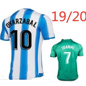 Реал Сосьедад футбола Джерси X.PRIETO J.ZALDUA Agirretxe V.GRANERO 2019 2020 M.BERGARA 19 20 нового топ футбол рубашки тайского качества