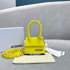 nuevo bolso de la marca de lujo diseñadores Jacquemus Mini amantes esposa hija regalos patrón de cocodrilo del mensajero bags30be crossbody de las mujeres #
