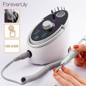 65W 35000RPM Electric Nail Drill Machine Nail File Kit Manicure Pedicure Drill Polisher Device With Ceramic Bits