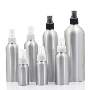 Aluminio spray atomizador botella 30ml-500ml aerosol de la niebla botellas recargables vacíos del metal botella de perfume cosmética embalaje Botellas GGA3467