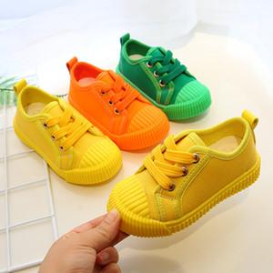 Спортивные детские Детские Обувь Холст Обувь Весна Осень Мода Детские Печенье Конфеты Повседневная Повседневная Детские Мальчики Девушки Нескользящие Обувь