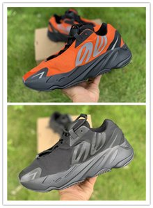 Wholesale 2020 New Triple Black orange men women casual running shoes outdoor trainers top quality free shipping size 36-46.5