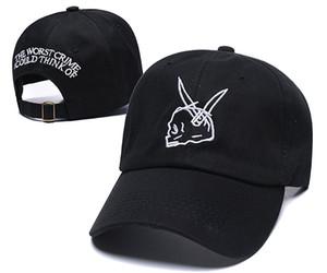 Baseball Cap J. Cole Sinner Crown Träger verstellbar gebogen Bill Dad Hut Baumwolle Vintage Golf Hip Hop Caps für Männer Frauen