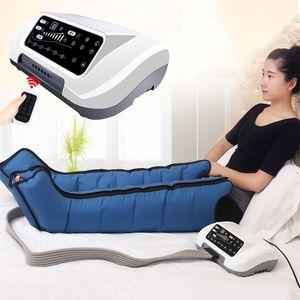 Air Compression Perna Pé Massager Vibração terapia infravermelha braço cintura ar pneumática Wraps Relaxe alívio da dor