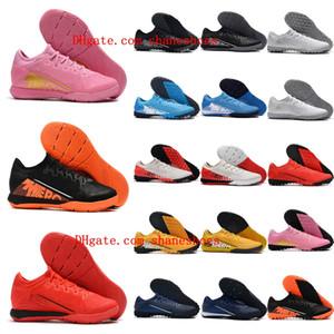 2020 en kaliteli futbol ayakkabıları Mercurial Buharlar 13 Pro TF IC kapalı CR7 futbol krampon Neymar çim futbol ayakkabıları scarpe da calcio mens