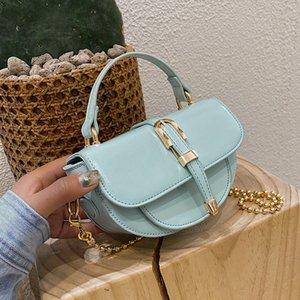 Pu Leather Crossbody Bags For Women 2020 Quality Shoulder Messenger Bag Lady Travel Semicircle Handbags