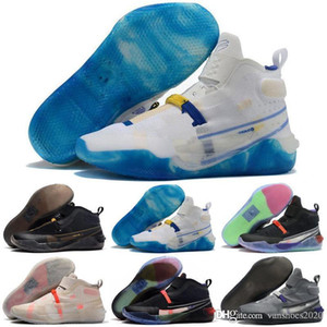 2020 AD Lakers FF NXT Hommes Chaussures de basket Mamba Day EP Voile Multi-couleurs 12 12s AD Sport Sneakers nous Taille 7-12