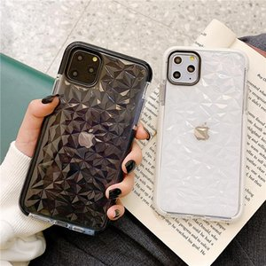 Lusso Jelly per iPhone cassa del telefono di 11 Pro X XR XS Max TPU cassa trasparente antiurto trasparente per l'iPhone 7 8 6 6s più