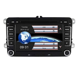 2Din RS510 7inch Auto DVD-Player eingebaute GPS-Navigation Bluetooth MP3 / MP4 1080P Wiedergabe für Volkswagen GOLF 5/6