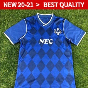 Retro classic Everton 1987 1988 soccer jerseys 87 88 Retro football shirt