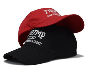 Designer Donald Trump 2020 Cap Keep America Great Letter Embroidery Cotton Curved Baseball Caps Adults Mens Womens Sport Hats Sun Epacket