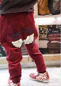 Children Pants Kids Boy Girl Fashion Leisure Wings Cotton Haren Hip Hop Street dance Pants Kids Wear