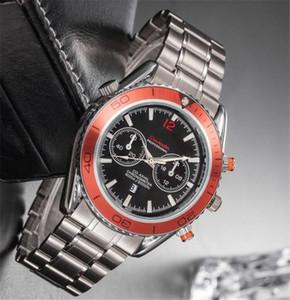 Новый топ из нержавеющей стали роскошные модные мужские наручные часы Sea horse watch дизайнер популярные кварцевые часы спортивные военные мужские часы