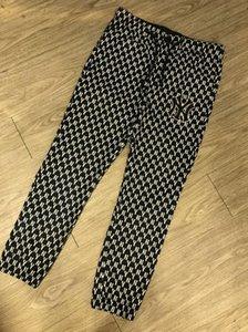20SS Paris automne et en hiver les derniers top mens designer de qualité d'impression de broderie de haute couture Lettre pantalon blanc noir