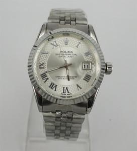 ¡venderse como panqueques! Los pares del acero inoxidable resistente al agua reloj de cuarzo de negocios Estudiante masculino del reloj del regalo