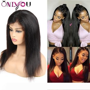 Onlyou Hair@ Straight Full Lace Human Hair Wigs Brazilian Virgin Hair Wigs Body Wave 100% Human Hair Lace Front Wigs For Black Women