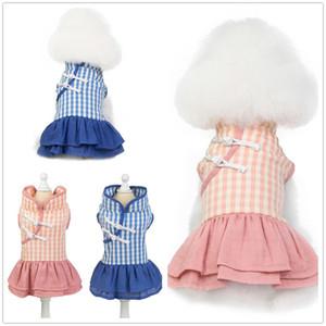 20 новых одежды любимчика игрушечного одежды собаки собаки производители юбка кошечка одежды оптовой весной и летом Cheongsam юбка