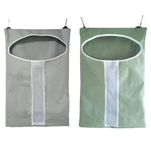 Holding Kirli Giyim Tasarruf Uzay Çamaşır Depolama çanta için Ayarlanabilir Kapı Rozetli Çamaşır Sepet Bag Kapı Asma