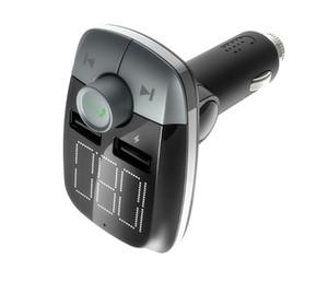 Автомобильный Bluetooth Hands Free MP3-плеер FM-передатчик Автомобильное беспроводное MP3 Автомобильное зарядное устройство T50