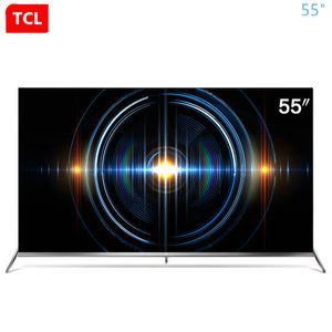TCL da 55 pollici 4K uhd piena HDR ecologica angolo arrotondato a pieno schermo scena AI TV nuovo prodotto caldo di trasporto libero!