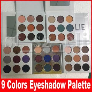 Sombra da coleção da queda Sombra de olho Prensado Paleta da sombra de olho Bronze Borgonha feriado roxo azul olhos de mel Maquiagem 9 Cores
