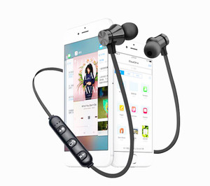 XT11 Wireless Bluetooth headphones Sports In-Ear BT 4.2 Stereo Magnetic earphone headset earbud with MIc For iphone X 8 Samsung DHL free