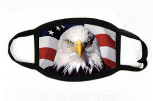 US STOCK, Designer Mask Cotton Flag Trump Mouth Mask Cycling Camping Travel,100% Cotton Washable Reusable Cloth Masks FY9120