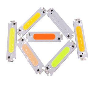 12V DC LED وحدة البوليفيين المصدر ضوء ملون 60 * خفض 15mm 2W DIY LED رقاقة لمبة مصباح 6CM أبيض أحمر أزرق أخضر أرجواني