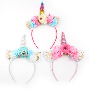 Hot Headwear blast hair hoop Halloween Headwear Decorazione per capelli all'orecchio di coniglio Fascia per bambini all'ingrosso ragazza regalo di Natale 6 colori