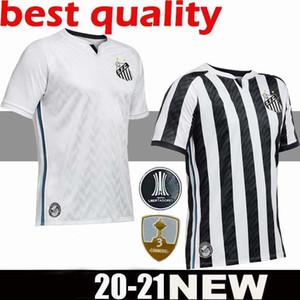 20 21 club brésilien qualité supérieure maillot de football Santos maison loin Gabriel RODRYGO DODO RENATO football maillots uniformes chemises