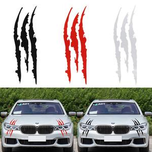40 cm * 12 cm Lustige Auto Aufkleber Reflektierende Monster Scratch Stripe Claw Marks Auto Auto Scheinwerfer Vinyl Aufkleber Auto Styling