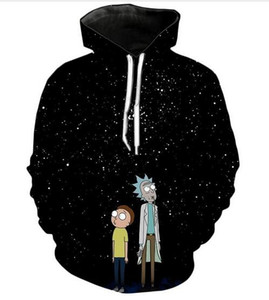 New Fashion Harajuku Style Casual 3D Printing Hoodies Rick and Morty Men   Women Autumn and Winter Sweatshirt Hoodies BQ052