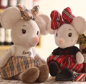 Korean version of creative Ni mouse plush toy girls doll cute little mouse doll holiday gift batch