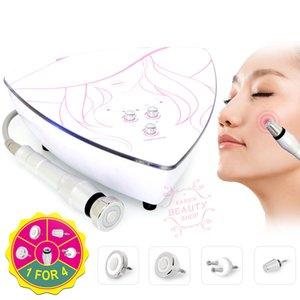 Taşınabilir Mini Bipolar Radyo Frekans Makine 2 Problar Yüz Ve Vücut Cilt Gençleştirme Beauty Spa Makinesi İçin Anti-aging