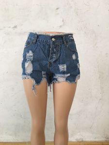 plus Größe Sommer Shorts Jeans Frauen Street Low Waisted Jeans-Shorts Frauen heiße sexy kurze Jeans Denim Frauen feminino