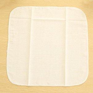 Venta caliente de la tela de algodón del paño de vapor bollo rellena al vapor de gasa de algodón reutilizable natural puro vapor de bambú del paño