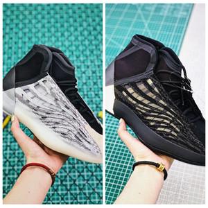 Последний релиз Kanye QUANTUM повседневная Kanye West 3M Светоотражающие Статические V2 west Обувь Дизайнер кроссовки с коробкой US7-13