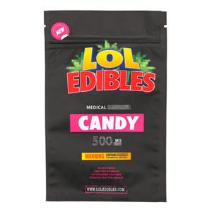 Medibles sac de bonbons gommeux LoL edibles sac de bonbons Connected bleu Cookies jungle garçons Sacs Runtz Mylar sacs Zipper