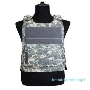 Fashion-Tactical Camo Vest Men Camouflage Waistcoat SWAT Train Combat Paintball CS Game Equipment Protective Vest